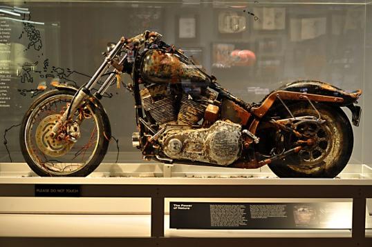 HARLEY-DAVIDSON MUSEUM TSUNAMI MOTORCYCLE