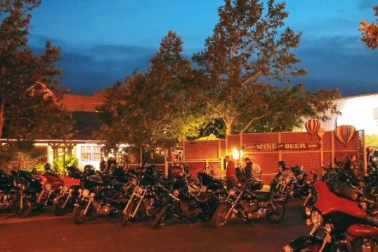 Bike Night meetups are held at the Wine and Beer Garden in Old Town Temecula every third Thursday of the month.