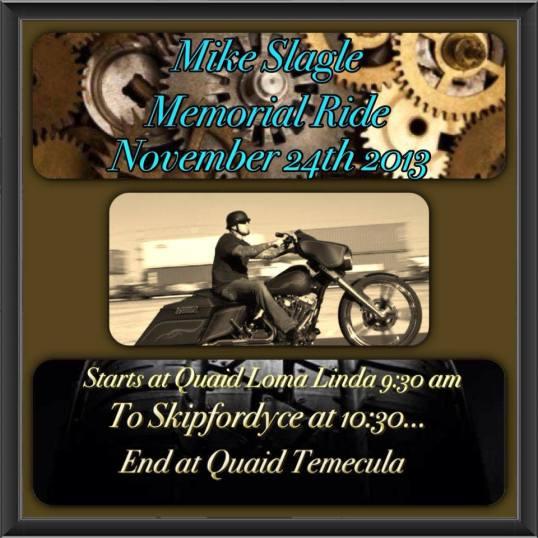 Mike Slagle Memorial Ride