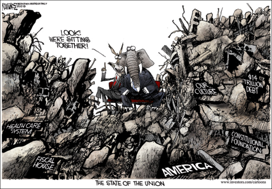 Michael Ramirez Cartoon - Chromium