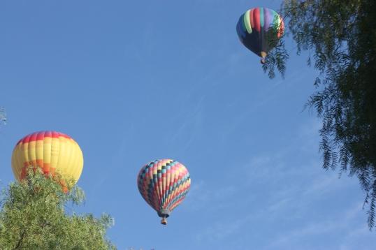 Saturday Morning Balloons